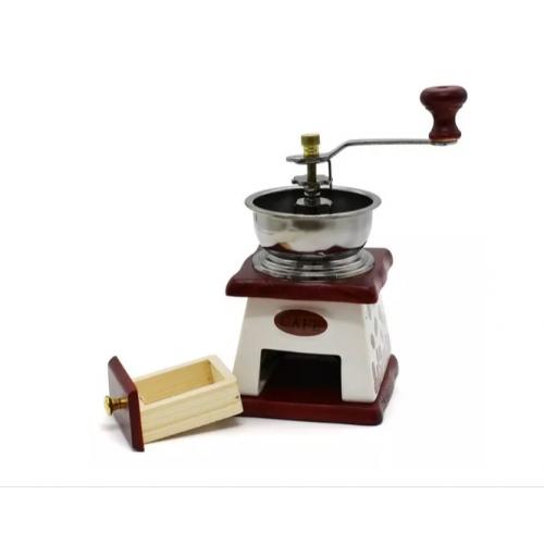 Mini Moedor De Café Manual - Design Retrô