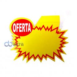 CARTAZ PROMOCIONAL - SPLASH 14,5x12 cm - PACOTE COM 100 UNIDADES