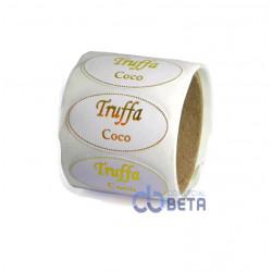 ETIQUETA PARA TRUFFA  - COCO