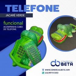 Telefone Jacaré Verde